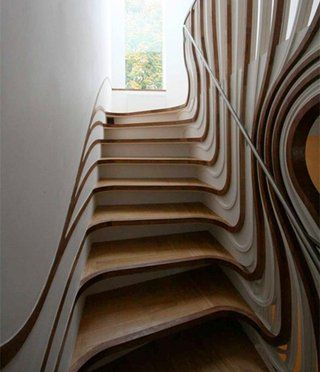I am totally sure I would trip on these! Neat to look at though!