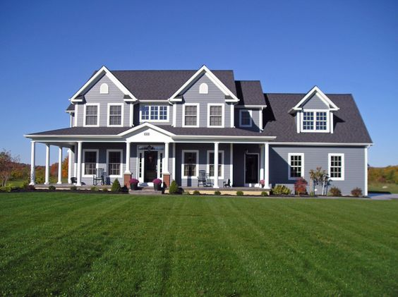 Image detail for classic farmhouse exterior home for Classic house colors