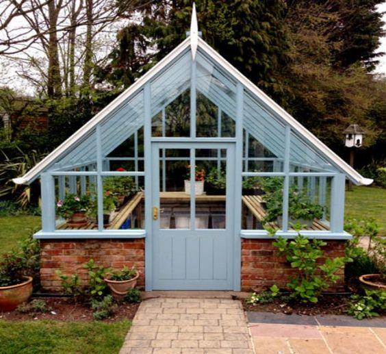 Greenhouse gazebos for indoor plants gardens for Build indoor greenhouse