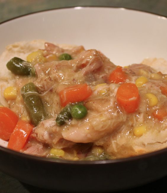 Chicken pot pies, Pot pies and Skinny chicken on Pinterest