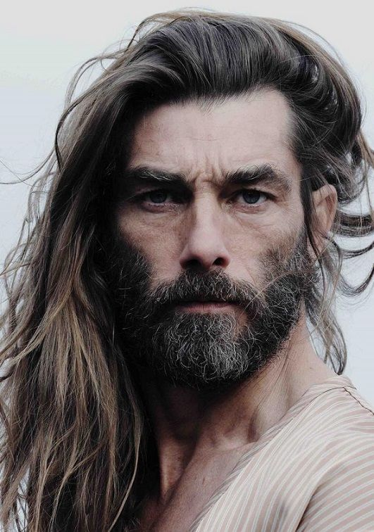 20 Long Hairstyles With Beard For Mens 2018 Pics Bucket Long Hair Styles Men Beard Model Long Hair Styles