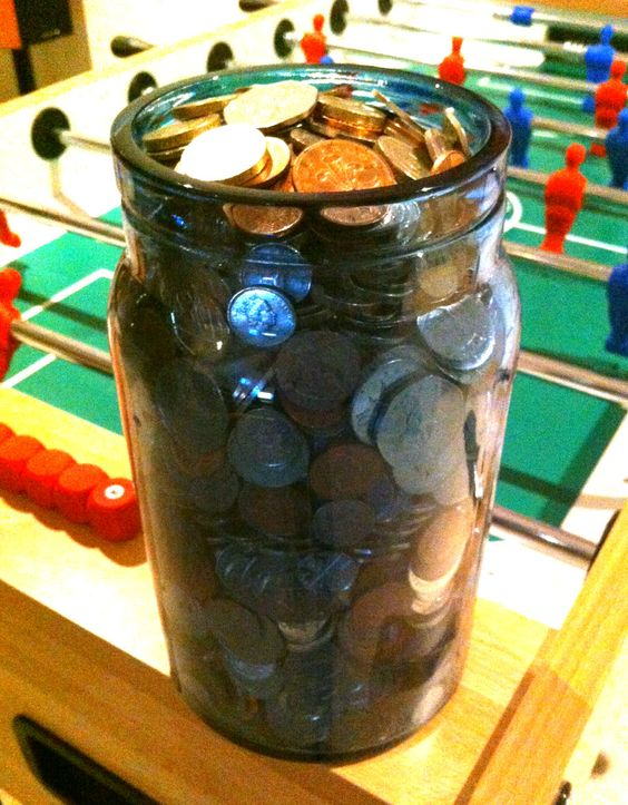 Guess the value of this jar and win it for a charity of your choice