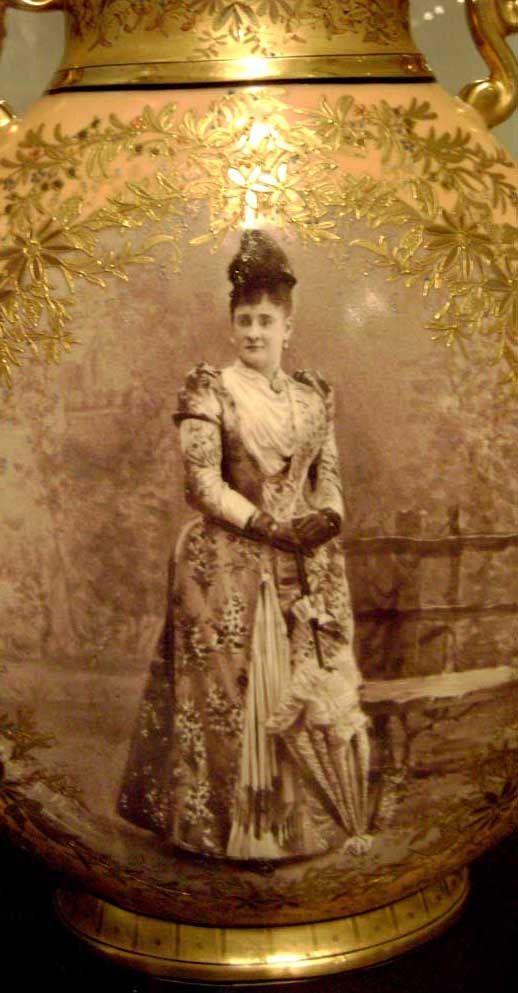 Detalle del retrato de Micaela Mora.- Museo Nacional de Costa Rica