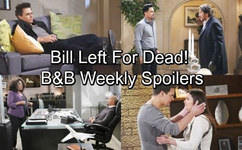 The Bold And The Beautiful Spoilers Week Of March 5 9 Bill Left For Dead Katie Wyatt Reveal Engagement Thomas Returns Bold And The Beautiful Soap News Be Bold