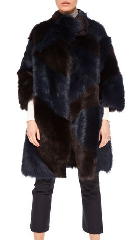 dying for this reversible shearling coat! gorgeous