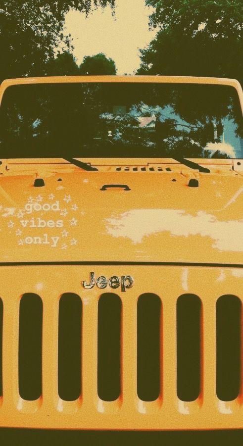Jeep Jeepwrangler Yellowjeep Yellowaesthetic Vsco Vscofilter Inspiration Goodvibes Cars Dreamcars Jeep Wallpaper Yellow Jeep Dream Cars Jeep