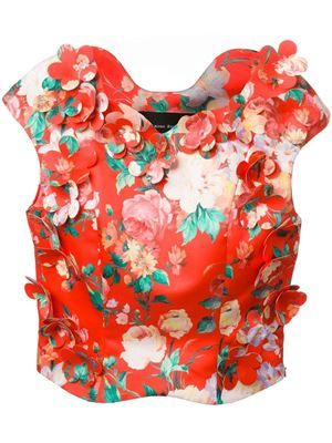 'Mad Flower' top