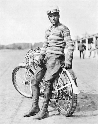 Tazio Nuvolari. Few knows he was also a great motorbike racer before becoming a legend of motor sports.