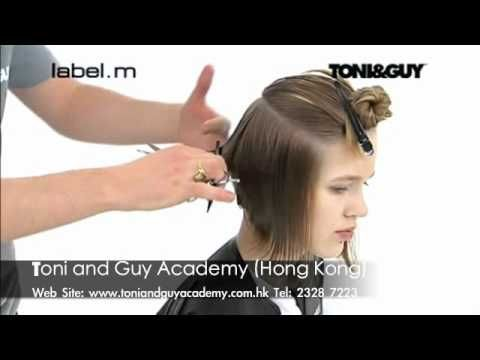 Toni And Guy Inverted Bob How To Hair Pinterest Bobs