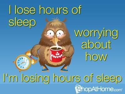 Damn you insomnia