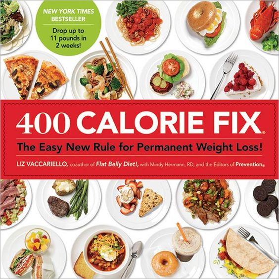Got this book at the library...and now I have to buy it. Tons of simple and tasty meals only 400 calories.