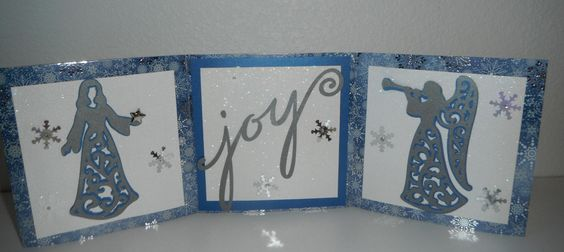 Mantle card I made.
