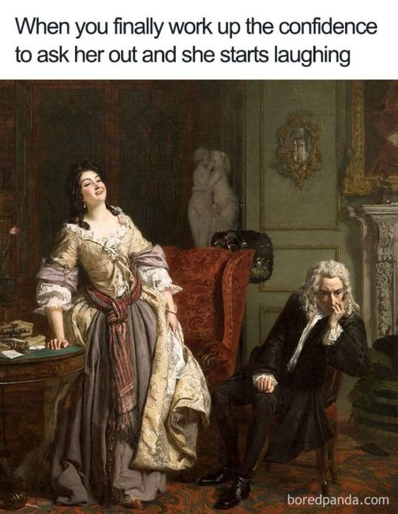 Lol thats actually what happened in the painting