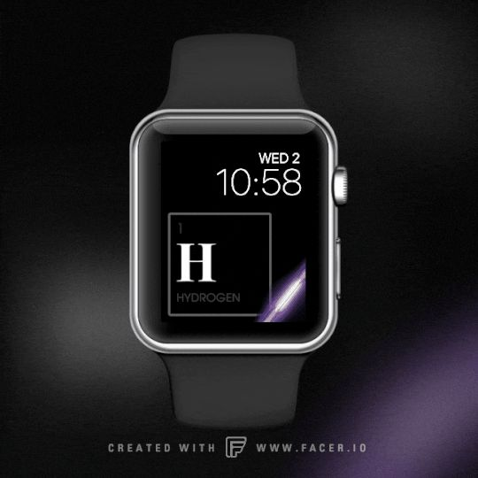 Periodic table in apple watch collection on facer ios facer is a periodic table in apple watch collection on facer ios facer is a watchface design platform for android wear apple watch design on facer pinterest urtaz Choice Image