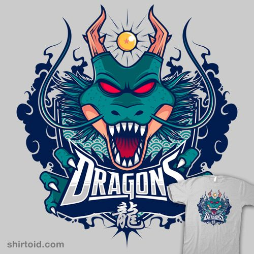 quotteam dragonsquot by studiom6 shenron of dragon ball z as a