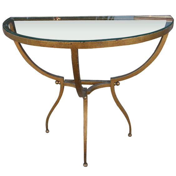 50's Side Table by Arturo Pani: Pani 1Stdibs, Adesso Side Tables, 50 S Side, Iron Side