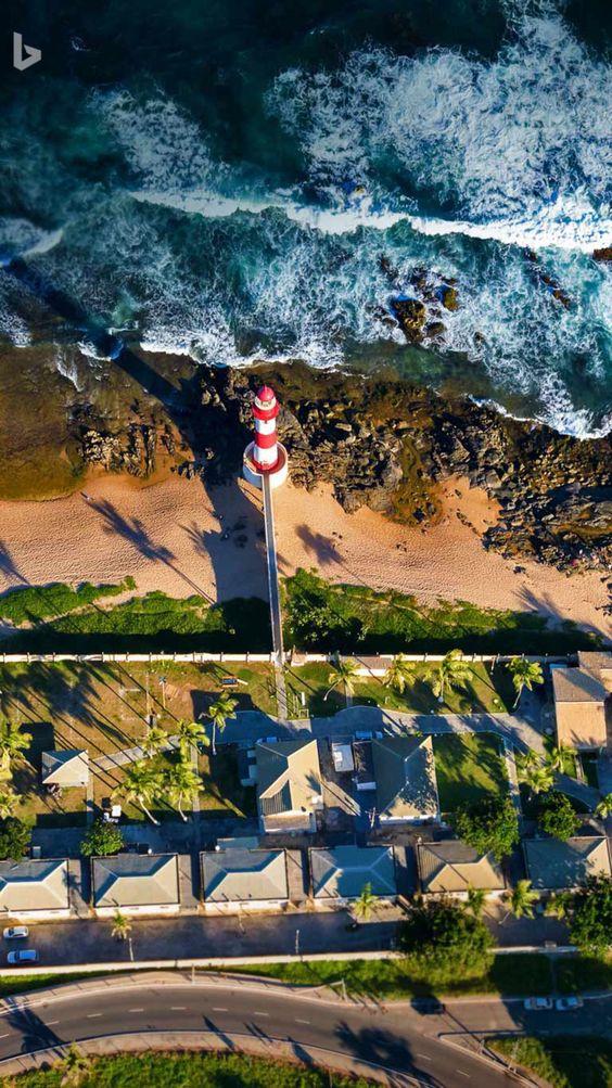 Itapua lighthouse, Brazil