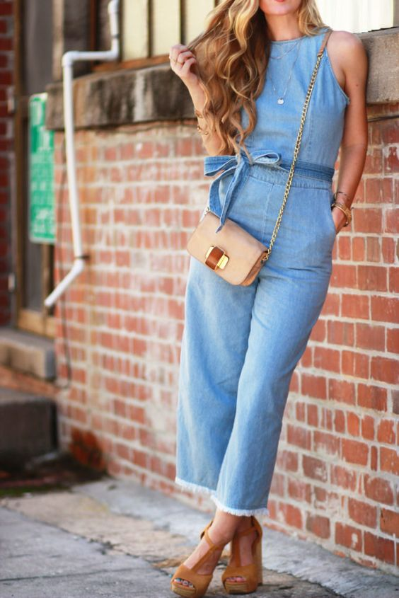 How To Style a Denim Jumpsuit | Upbeat Soles | Florida Fashion Blog