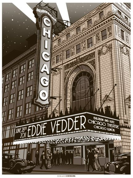 Eddie Vedder Chicago Theatre 1
