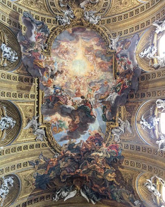 at Sant'Andrea della Valle)