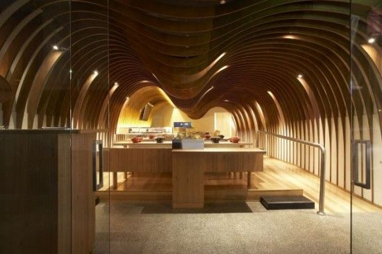 The Cave Restaurant by Koichi Takada Architects / Sydney, Australia / 2011