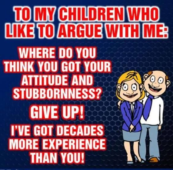 Bring it on, my children!  LOL