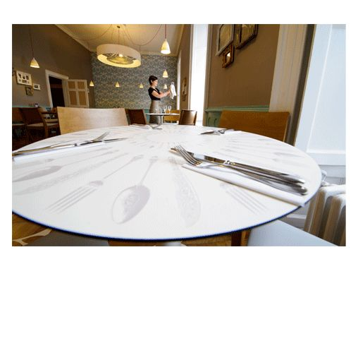 Bespoke table for Killerton Kitchen National Trust by absolute.interiors