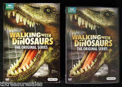 "Walking With Dinosaurs ""The Original Series"" BBC Earth 2 disc set"
