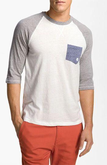 Volcom 'Rudi' Raglan Baseball T-Shirt   Nordstrom, $35.00