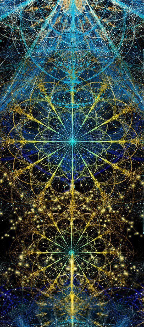 NEW WORKS - COMPLEXITY GRAPHICS / Sacred Geometry <3: