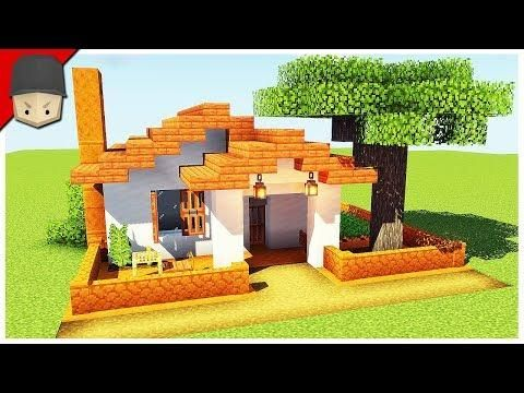 How To Build A Small Simple House In Minecraft Minecraft House