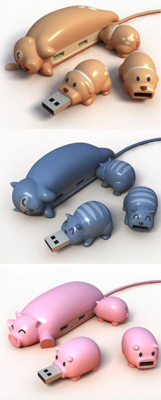 Animal Buddy USB Hub