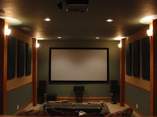 Small Home Theater Rooms | Complete Security Solutions | Bryant ...