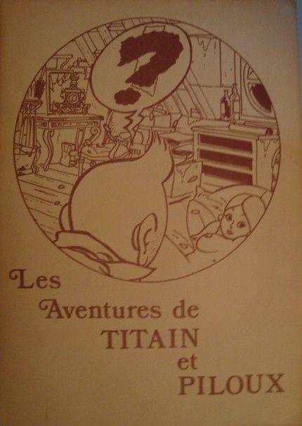 Les Aventures de Tintin - Album Imaginaire - Titain et Piloux