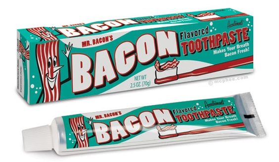 To go with the bacon wallet perhaps?!