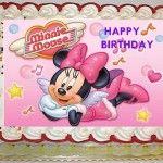 Minnie Mouse Cake Topper  Birthday Cakes Ideas cakepins.com
