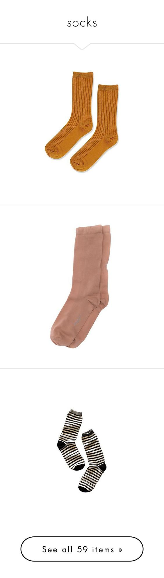 """socks"" by httpmorgann ❤ liked on Polyvore featuring intimates, hosiery, socks, mustard, short socks, topshop socks, topshop, ankle socks, tennis socks and accessories"