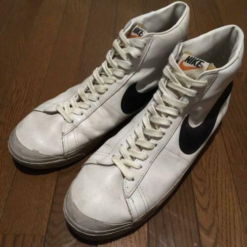 80 39 S Nike Blazer White Black Vintage Nike Made In Korea Men 12us Vintage Nike Vintage Sneakers Nike Blazer