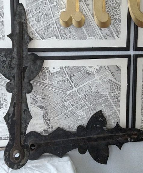 FleaingFrance....French Church Clock Hands-Paris