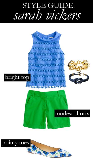 Want to dress like @Sarah Vickers? Here's a style guide to get her look!    Style Guide: Sarah Vickers