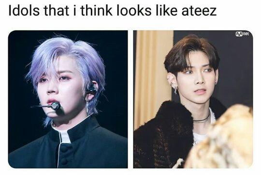 Ateez Memes In 2020 Kpop Memes Funny Kpop Memes Kpop Funny