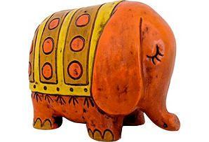 Psychedelic Elephant Bank