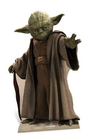 Star Wars - Yoda Pappaufsteller Standy - ca 76 cm