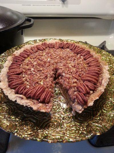 Bourbon Pecan Pie (By Alton Brown) Recipe - Food.com