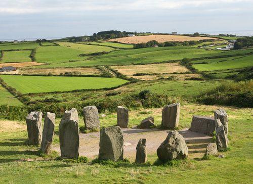 Drombeg Stone Circle, Ireland. Would love to travel around the countrysides of Ireland. Breathtaking views!