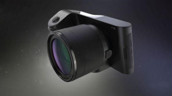 IRIS gyroscopic camera concept on Behance