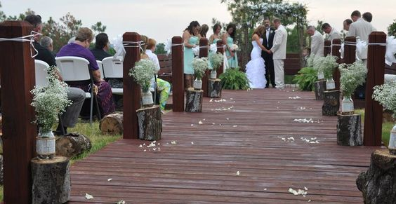 Customize This Beautiful Arkansas Outdoor Wedding Venue With Your Own Style Perfect For Sunset Weddings