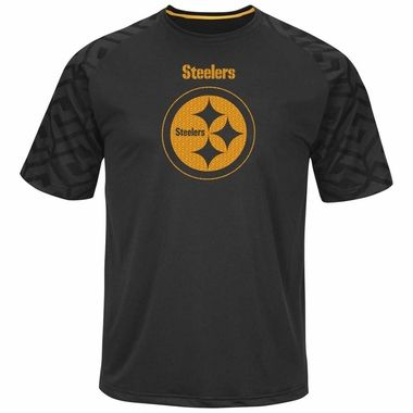 Pittsburgh Steelers Majestic Skill in Motion Men's Cool Base T-Shirt