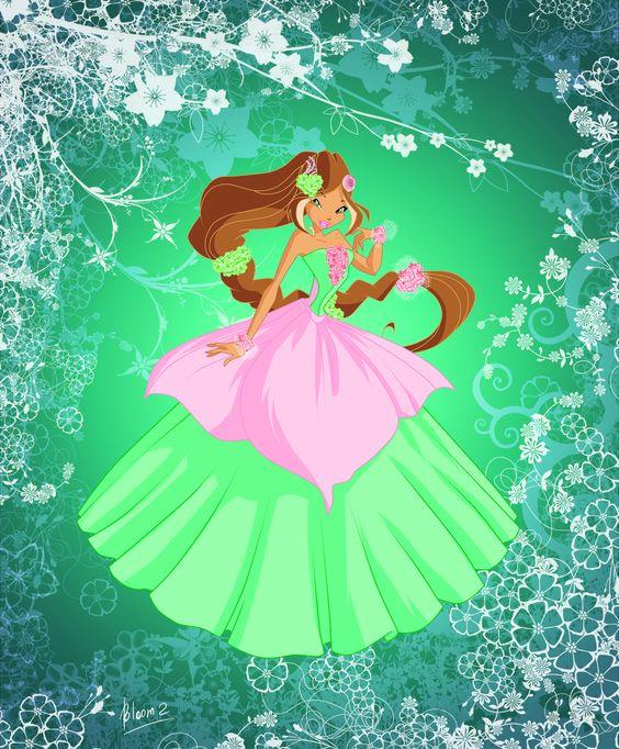 Flora princess of harmonix by on deviantart winx club pinterest - Princesse winx ...