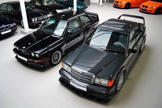 Mercedes Benz W201 2 5 16 Evo Ii 1990 Bmw E30 M3 Sport